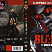 Blade Die Serie (2007) R2 German Cover & Labels