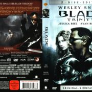 Blade 3 Trinity (2005) R2 German Cover & labels