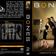 Bones Staffel 2 (2007) R2 German Cover & labels