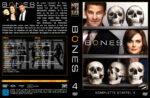 Bones Staffel 4 (2009) R2 German Cover & labels