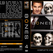 Bones Staffel 4 (2009) R2 German Cover & labels
