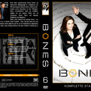 Bones Staffel 6 (2010) R2 German Cover & labels