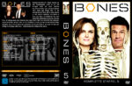 Bones Staffel 5 (2009) R2 German Cover & Labels