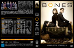 Bones Staffel 8 (2012) R2 German Cover & labels