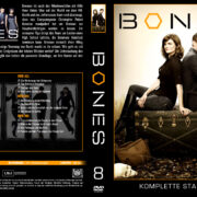 Bones Staffel 8 (2012) R2 German Cover & labels