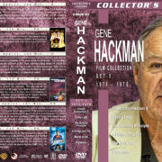 Gene Hackman Film Collection – Set 5 (1975-1978) R1 Custom Covers