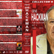 Gene Hackman Film Collection - Set 6 (1980-1983) R1 Custom Covers