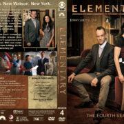 Elementary – Season 4 (2016) R1 Custom Cover
