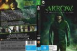 Arrow Season 3 (2015) R4 DVD Cover