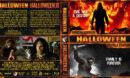 Hallowen / Halloween II Double Feature (2009) R1 Custom Blu-Ray Cover