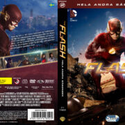 The Flash Season 2 (2016) R2 Custom DVD Swedish Cover
