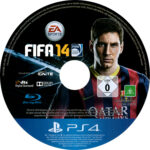 Fifa 14 (2013) PS4 Label Cover