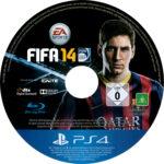 Fifa 14 (2013) PS4 Label Cover