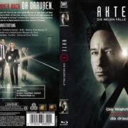 Akte-X Staffel 10 (2016) R2 German Blu-Ray Cover