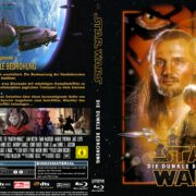 Star Wars: Episode I – Die dunkle Bedrohung (1999) R2 German Blu-Ray Cover