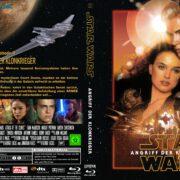 Star Wars: Episode II – Angriff der Klonkrieger (2002) R2 German Blu-Ray Cover