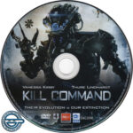 Kill Command (2016) R4 DVD Label