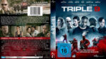 Triple 9 (2016) R2 German Blu-Ray Cover & Label