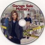 Garage Sale Mystery (2013) R1 DVD Label