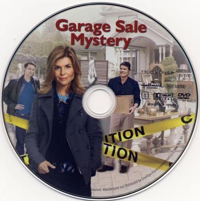 Garage Sale Mystery (2013) R1 DVD Label