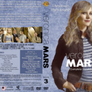 Veronica Mars - Season 3 (2007) R1 Custom Cover & Labels
