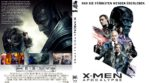 X-Men – Apocalypse (2016) R2 German Blu-Ray Cover & Label