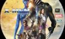 X-Men - Zukunft ist vergangenheit (2014) R2 German Custom Blu-Ray Label
