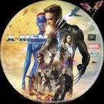 X-Men – Zukunft ist vergangenheit (2014) R2 German Custom Blu-Ray Label