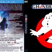 Ghostbusters REMASTERED 4K (1984) R2 German Blu-Ray Cover