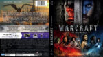 Warcraft The Beginning (2016) R2 German Blu-Ray Cover & Label