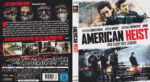 AMERICAN HEIST (2015) R2 German Blu-Ray Cover & Label