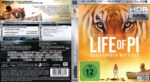 Life of Pi: Schiffbruch mit Tiger 4K (2015) R2 German Blu-Ray Cover