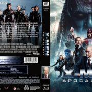 X-Men Apocalypse (2016) R2 German Custom Blu-Ray Cover & Label