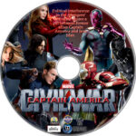 Captain America: Civil War (2016) R1 Custom Labels