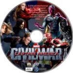 Captain America: Civil War (2016) R1 Custom Labels