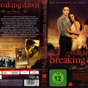 Breaking Dawn - Bis(s) zum Ender der Nacht (2011) R2 German Cover & Label