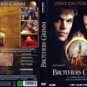 Brothers Grimm (2005) R2 German Cover & Label