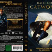 Catwoman (2005) R2 German Cover & Label