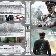 Dead Snow DOUBLE FEATURE 1 & 2 (2009-2014) R2 German Custom Cover & Labels