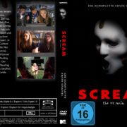 Scream: The TV Series Staffel 1 (2015) R2 German Custom Cover & Labels