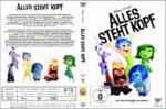 Alles steht Kopf (2015) R2 German Custom Cover & Label