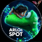 Arlo & Spot (2015) R2 German Custom Label