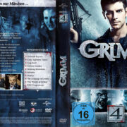 Grimm Staffel 4 (2015) R2 German Cover & Labels