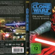 Clone Wars Staffel 4 (2012) R2 German Cover