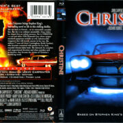 Christine (1983) R1 Blu-Ray Cover & Label