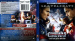 Captain America: Civil War (2016) R1 Blu-Ray Cover & Labels