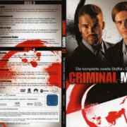 Criminal Minds Staffel 2 (2005) R2 German Cover & Labels