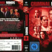 Criminal Minds Staffel 3 (2010) R2 German Cover
