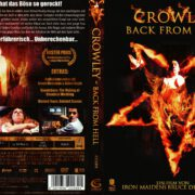 Crowley – Back from Hell (2008) R2 German Cover & Label