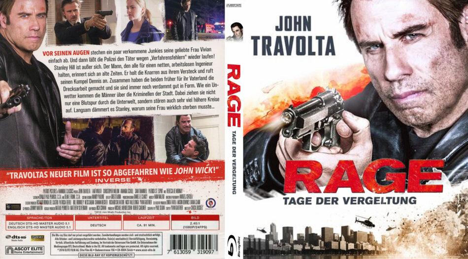 Rage Tage Der Vergeltung Blu Ray Cover Label 2014 R2